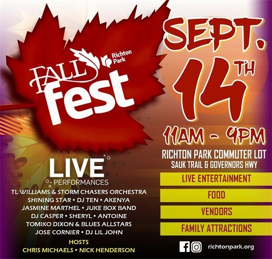 Richton Park Fall Fest 2019