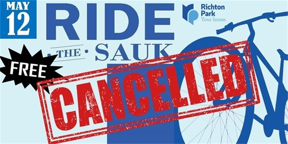 Ride the Sauk Cancelled