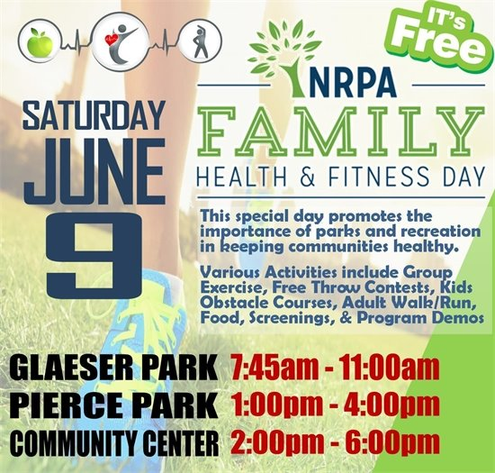 NRPA Family Health & Firness Day Richton Park