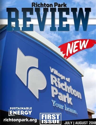 Richton Park Review First Issue Cover