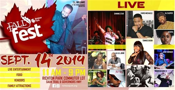 Richton Park Fall Fest Performing LIVE