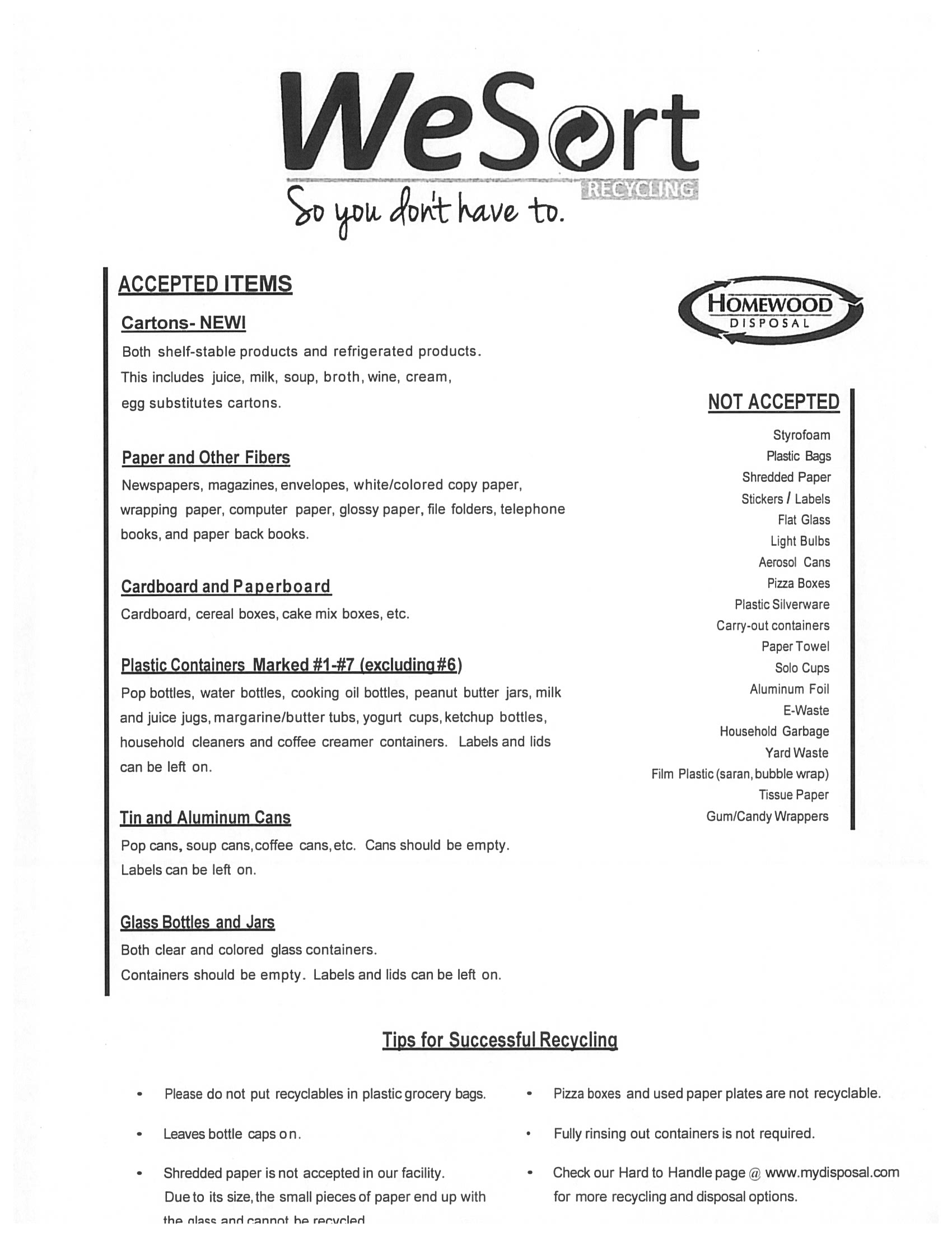 WeSort Accepted Items - Tips for Recycling.jpg