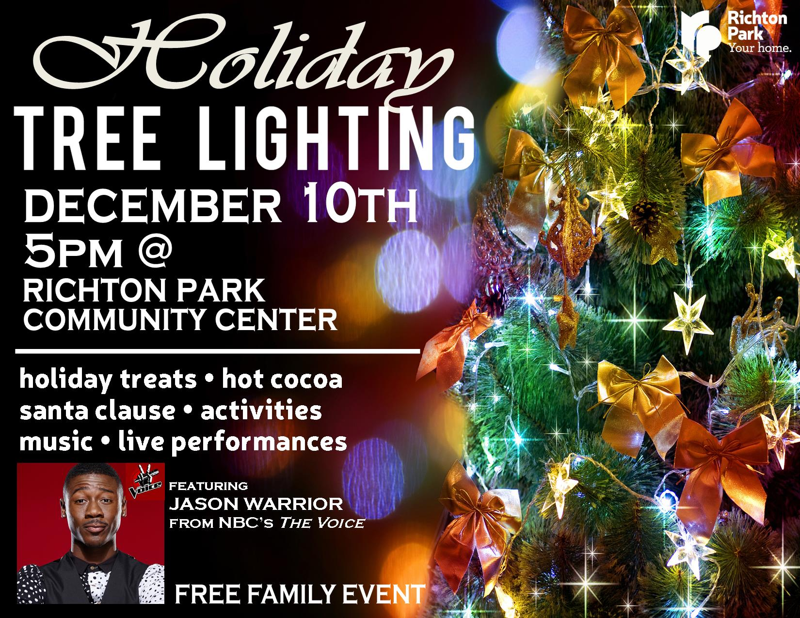 2016 Tree Lighting Ceremony