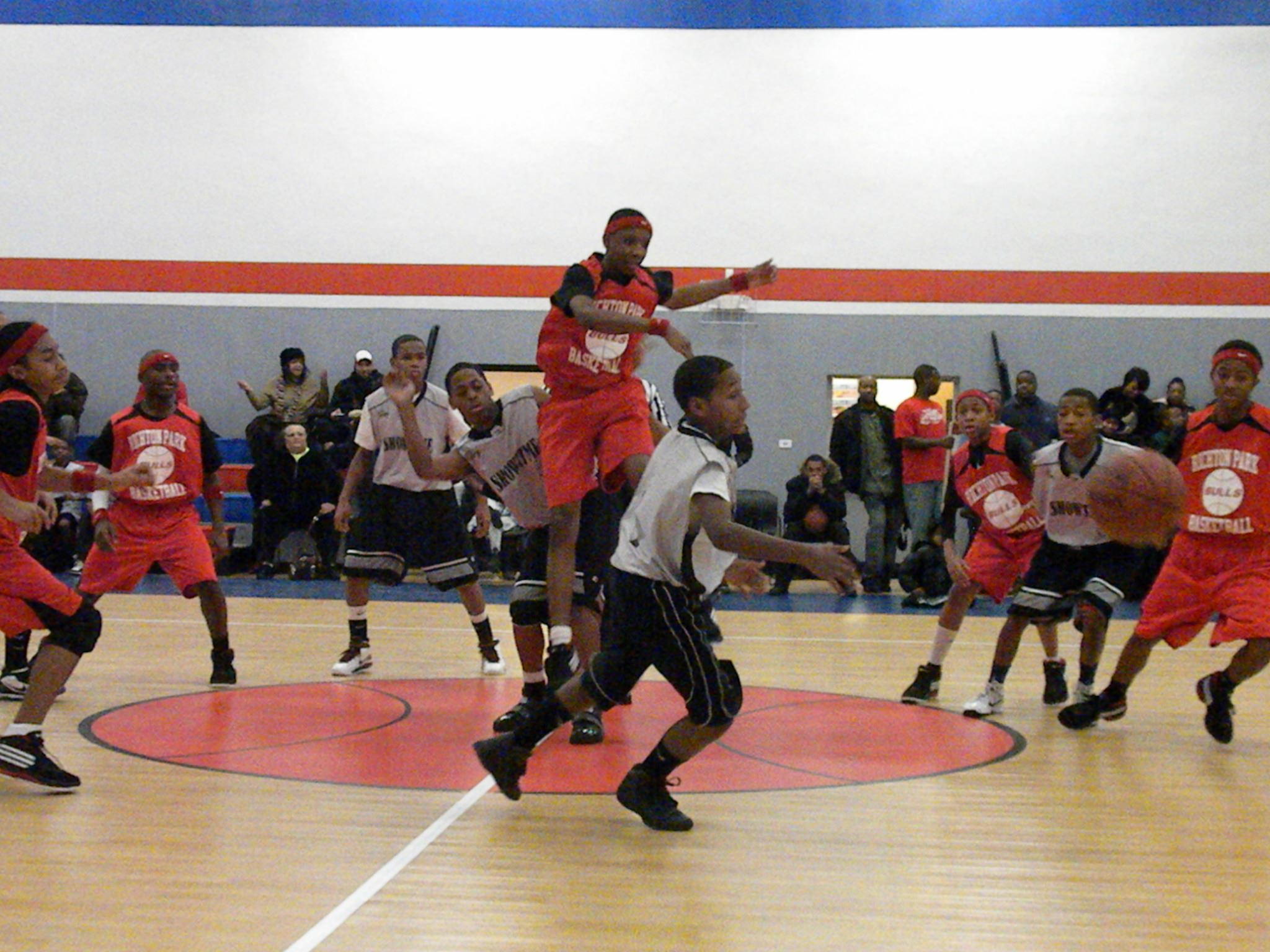 YBL 2014 Jump Ball In-Game