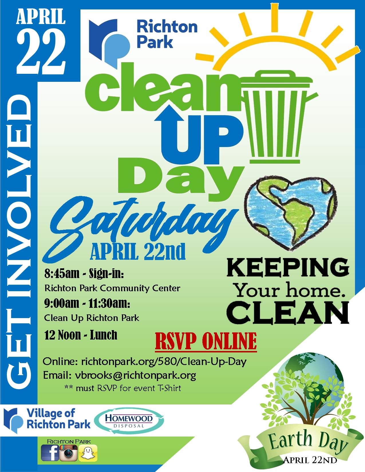 CleanUp Day 2017 Flyer