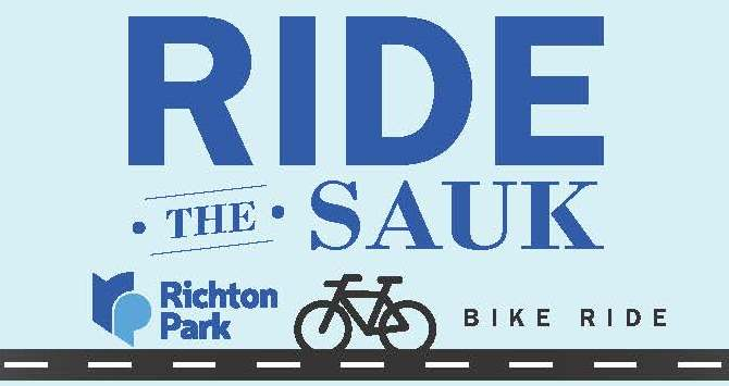 Ride the Sauk Logo