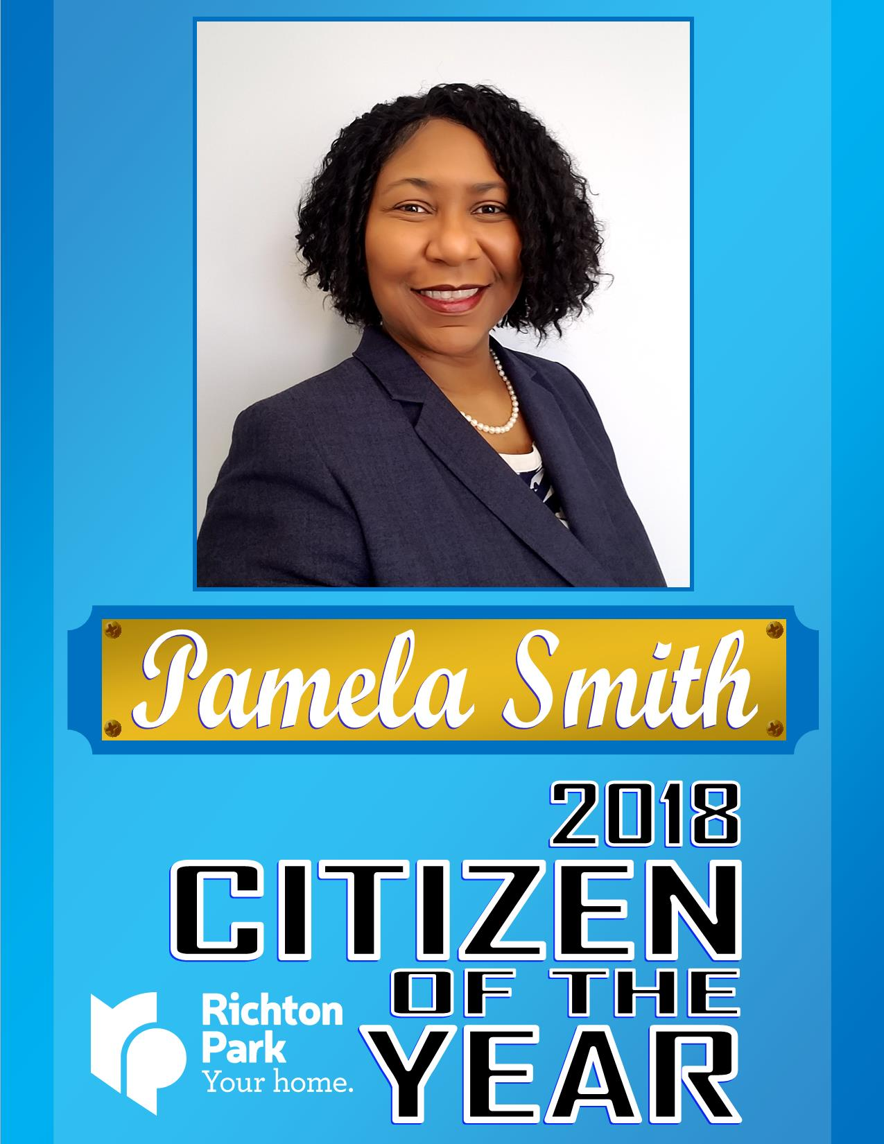 2018 Citizen if the Year - Pamela Smith