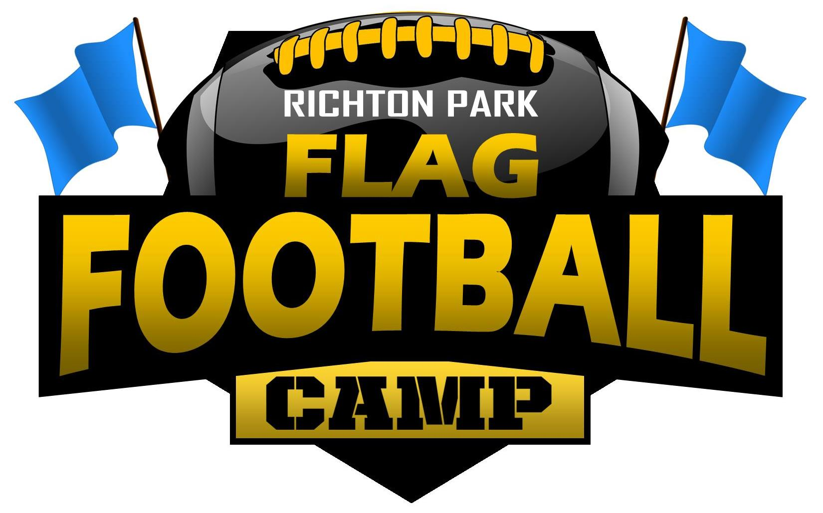 Youth FLAG Football Camp Logo