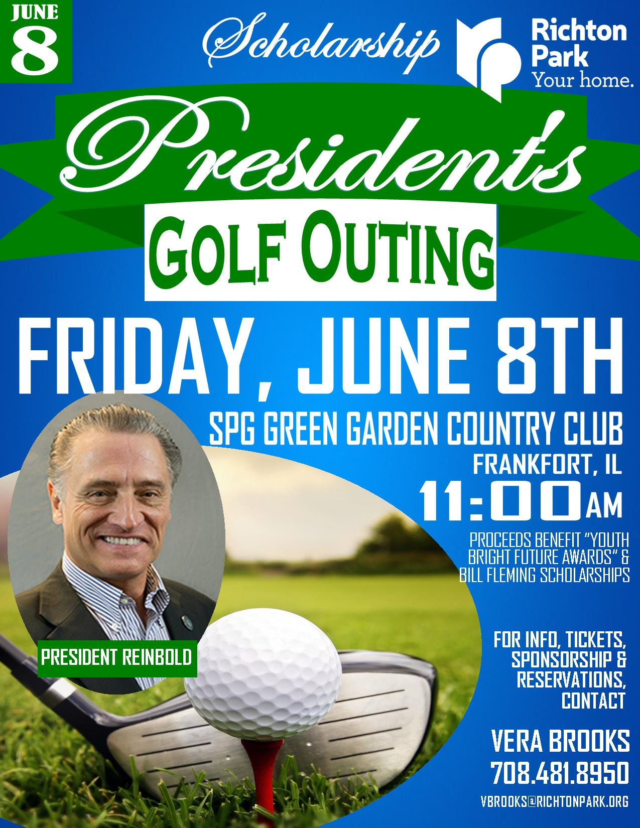 2018 Presidents Scholarship Golf Outing