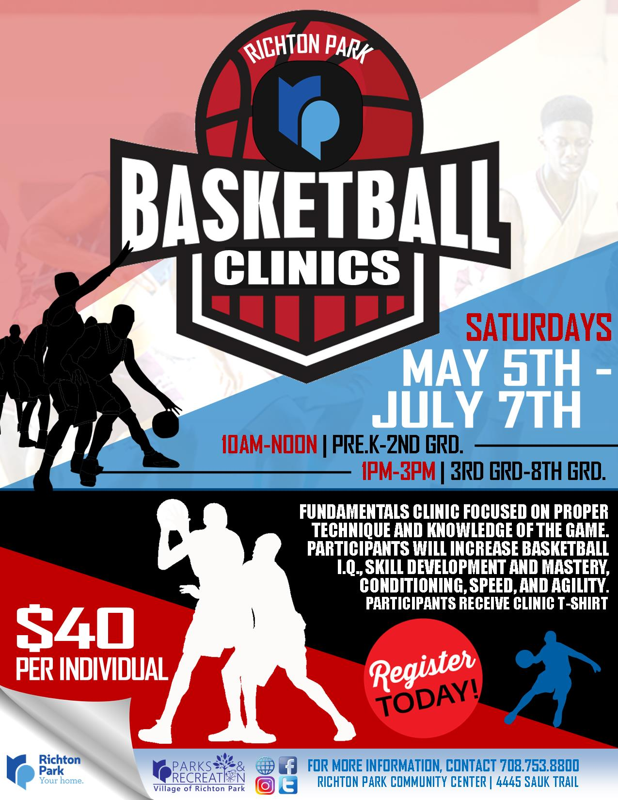 Youth Basketball Clinics SUMMER 2018