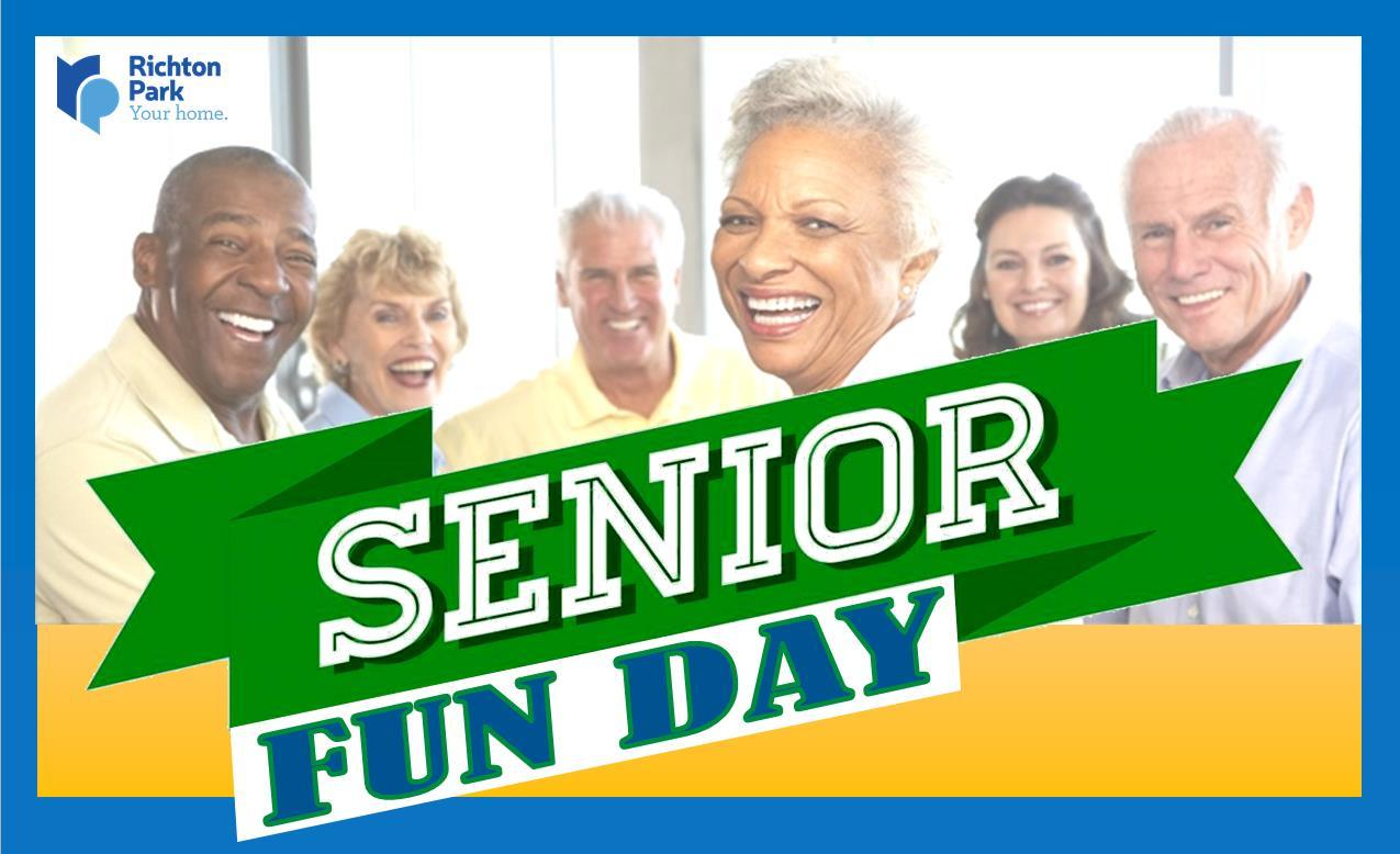 Senior Fun Day HEADER