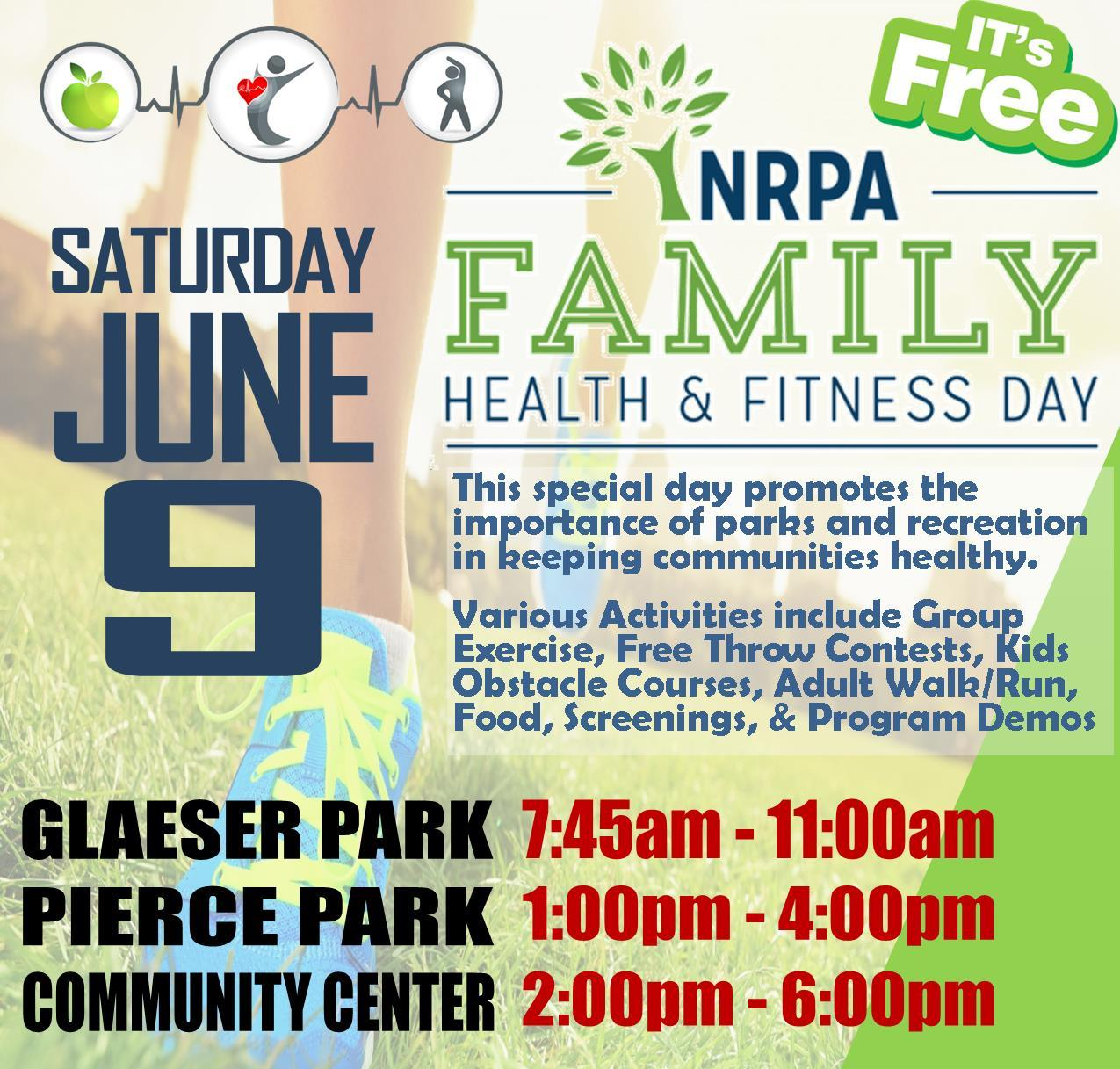 NPRA Family Health n Fitness Day 2018 sq