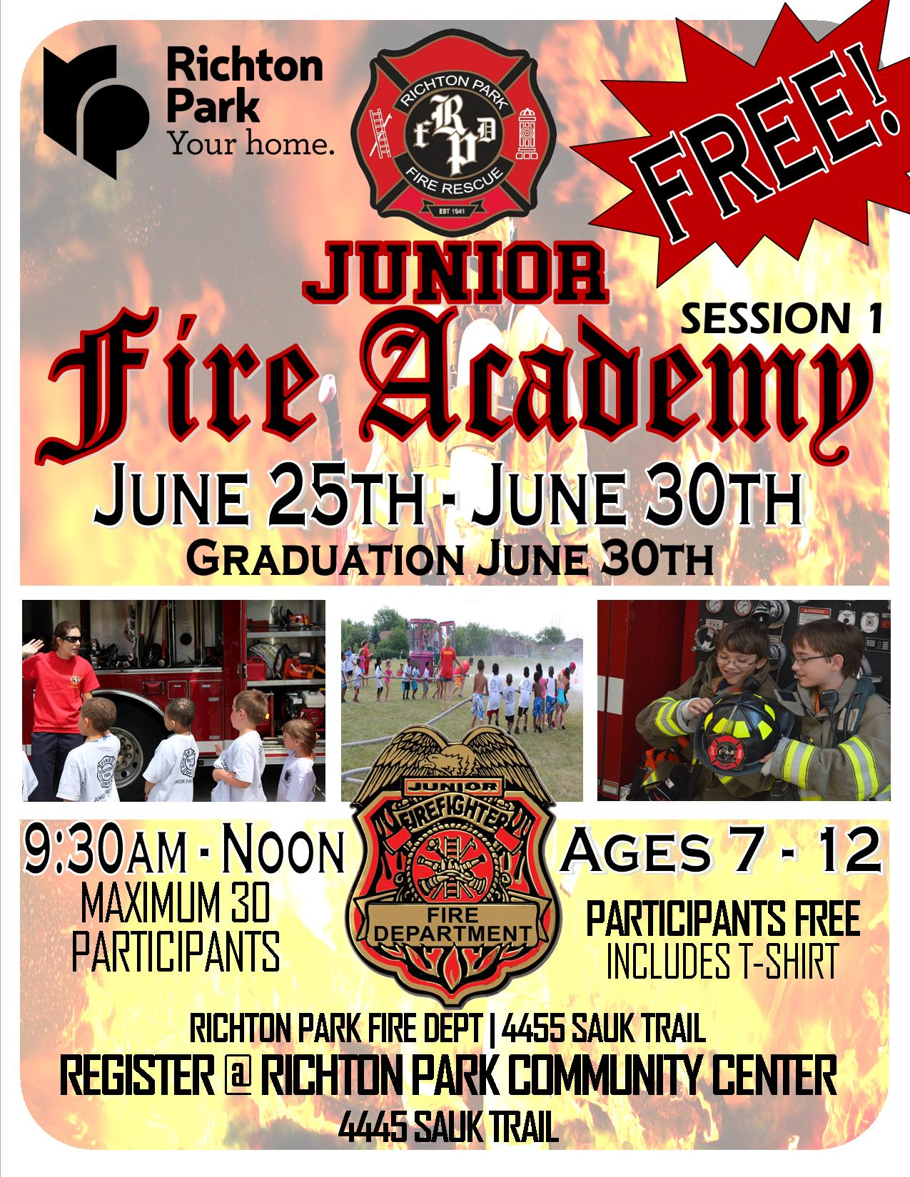Jr.Fire Academy 2018 - Session 1