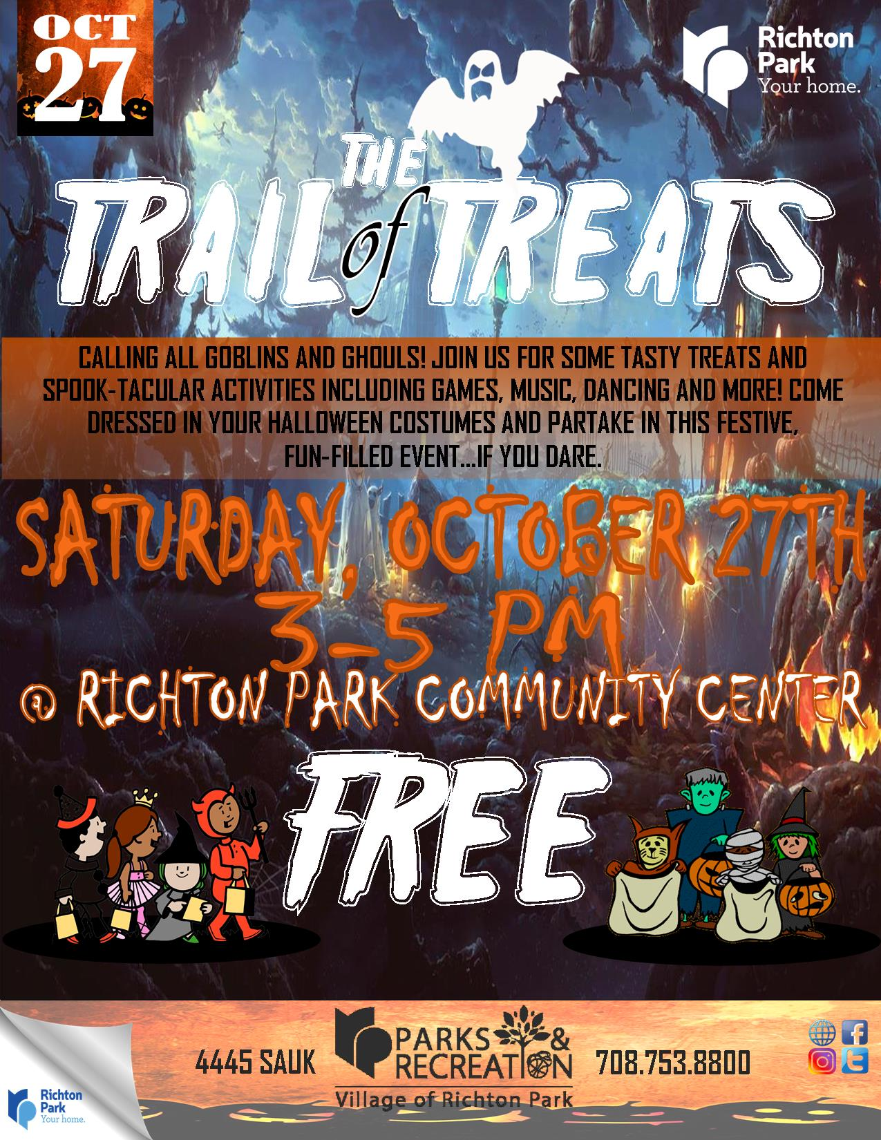 Trail of Treats 2018