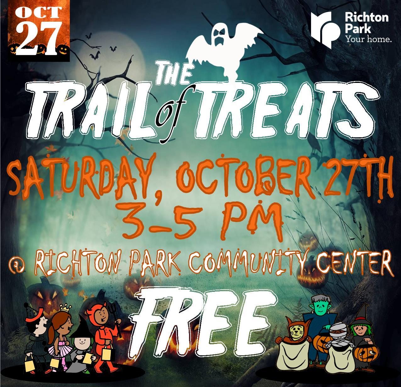 Trail of Treats 2018 sq
