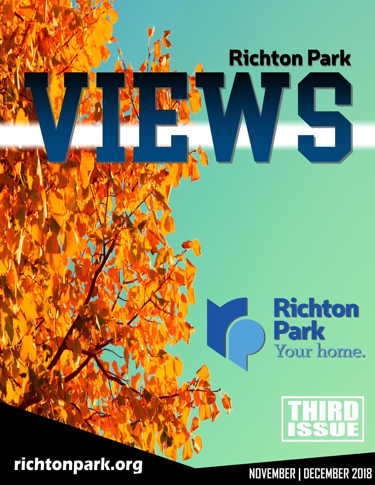 Richton Park Review - Third Issue Cover