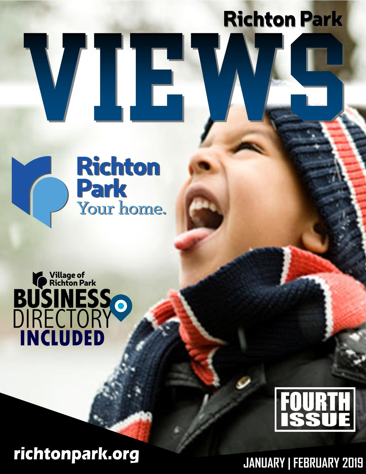 Richton Park Views - 4th Issue Cover