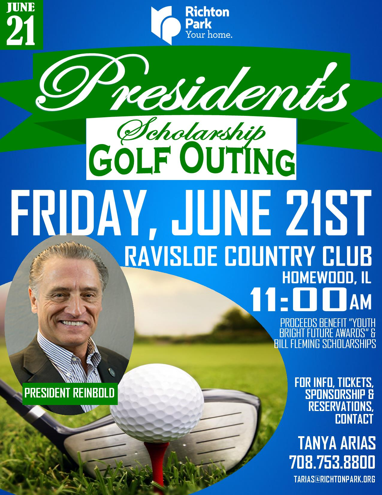 2019 Presidents Scholarship Golf Outing