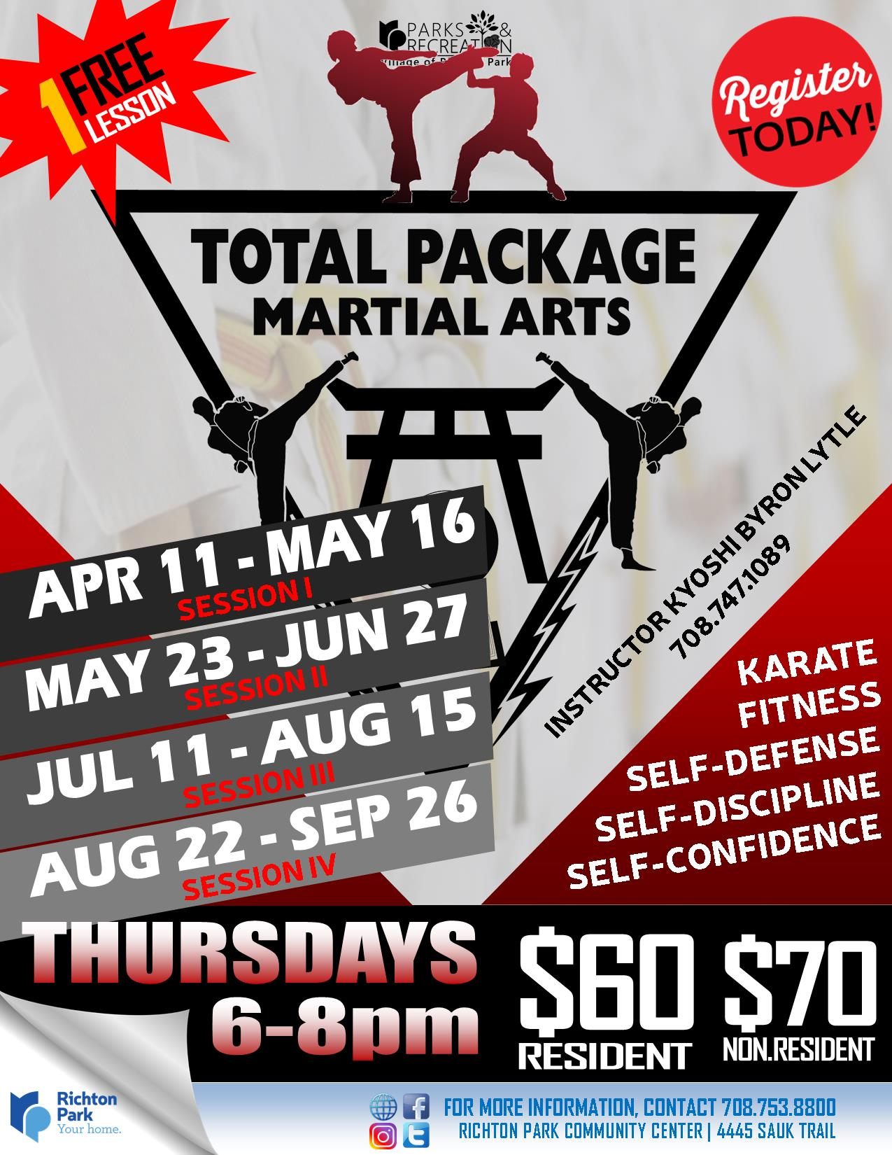 TotalPackage Martial Arts - 3.2019