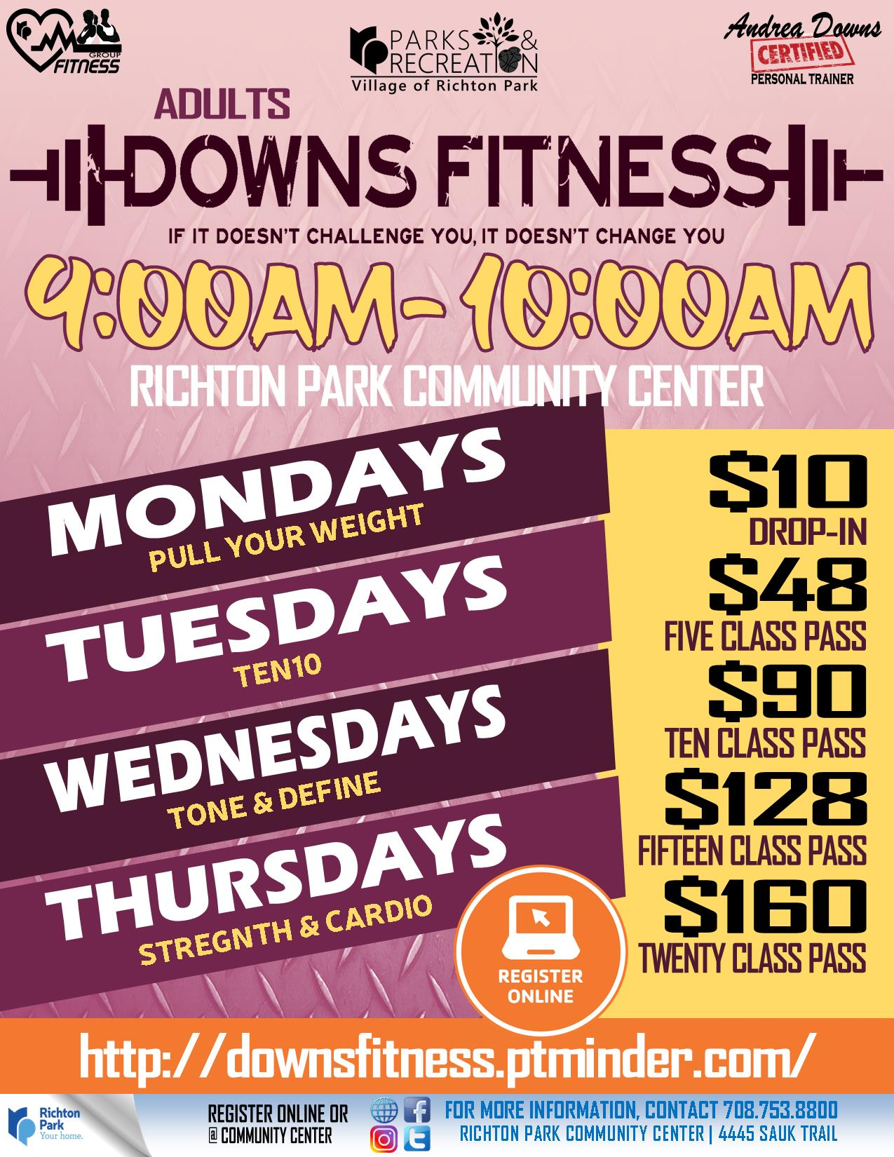 Downs Fitness 2019 - 9AM-10AM