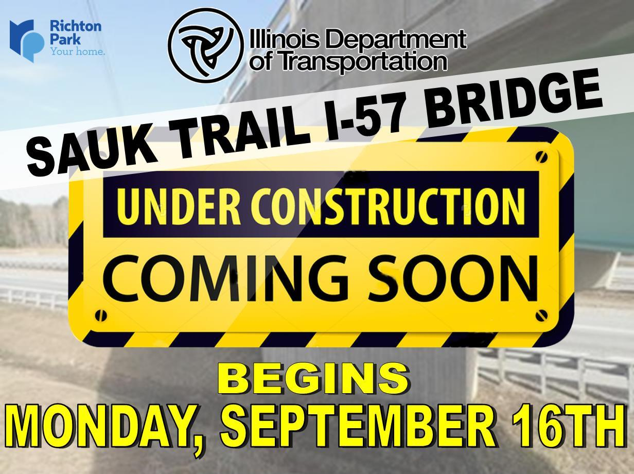 Under Construction - I57 Bridge