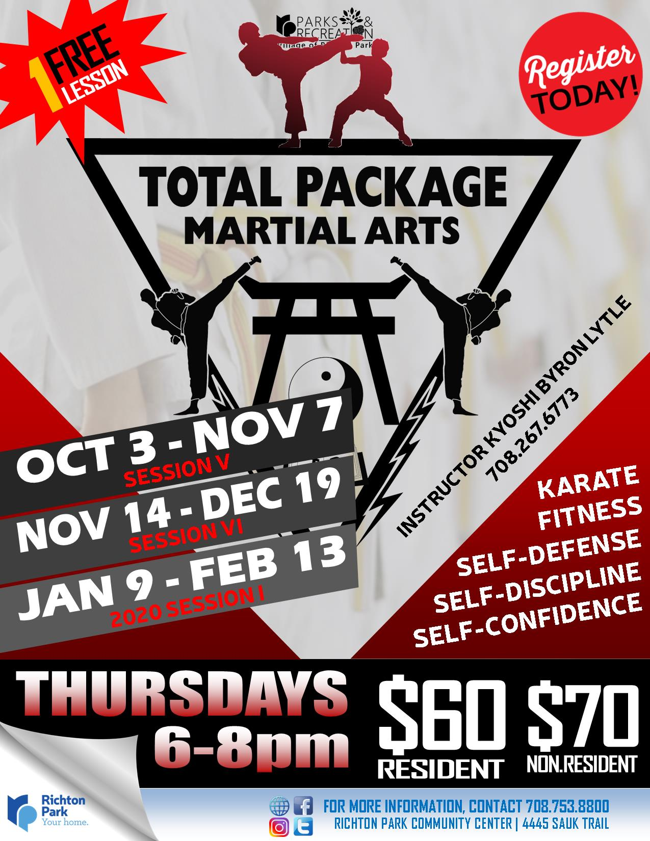 TotalPackage Martial Arts - FALL-WINTER 2019