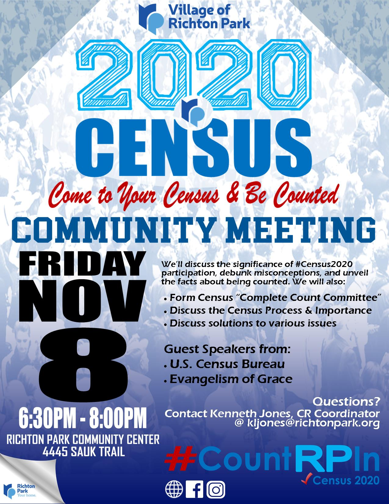 Census2020 Nov.2019 Event