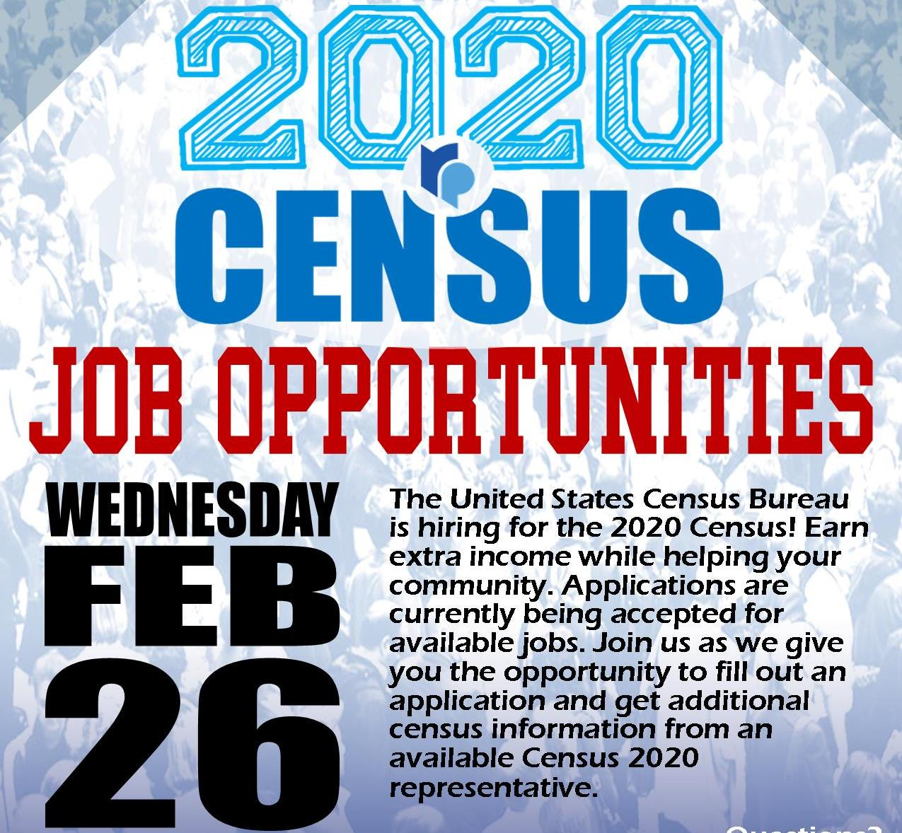 Census2020 Application Day - Feb 2020 TWO sq