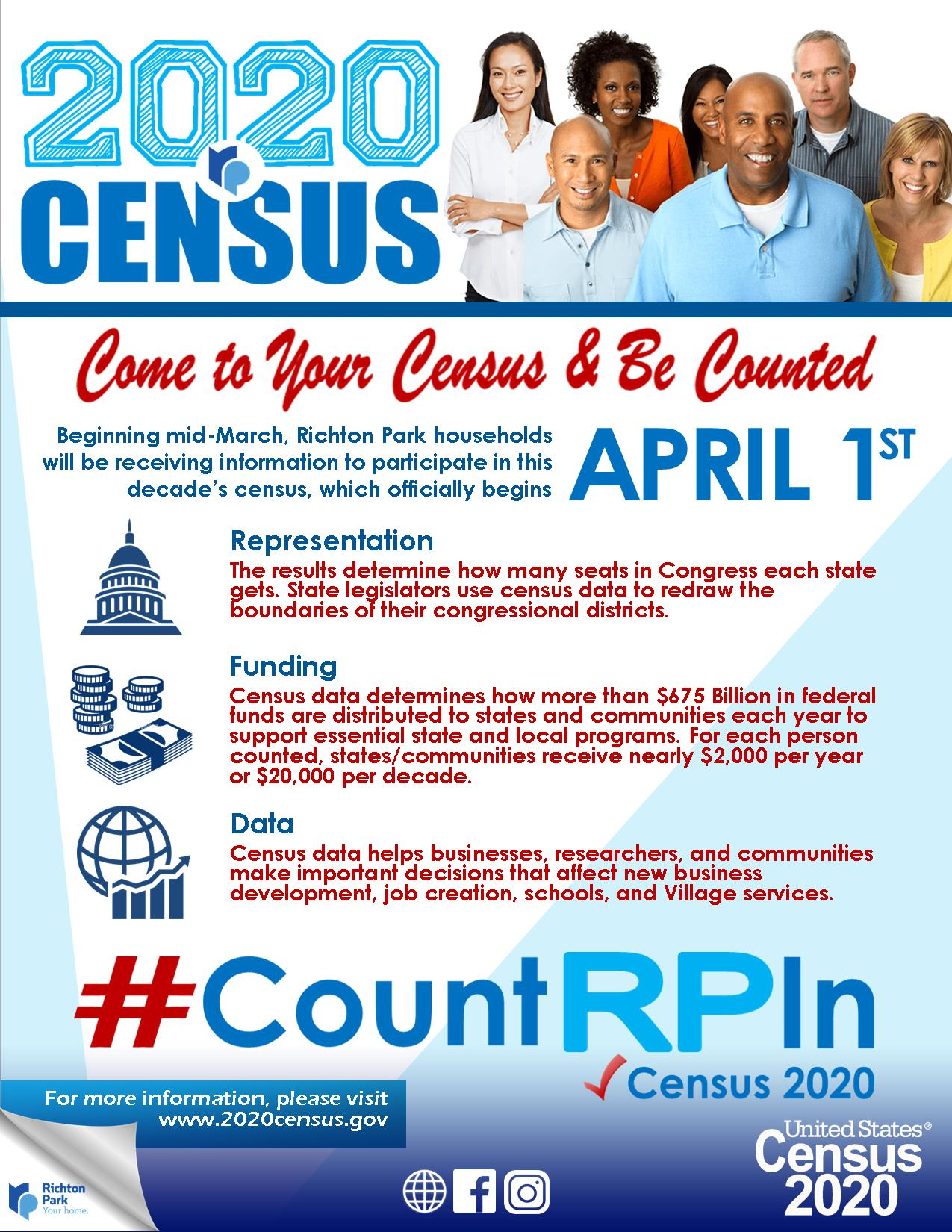 Richton Park Census2020 Promo