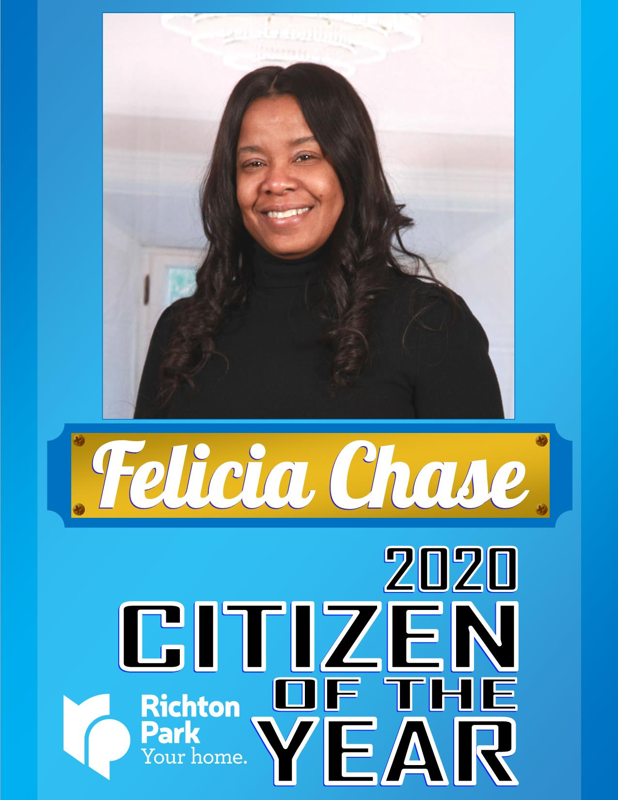 2020 Citizen if the Year - Felicia Chase
