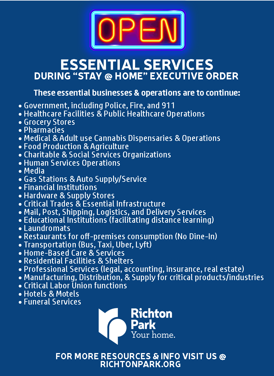 Open Essential Services