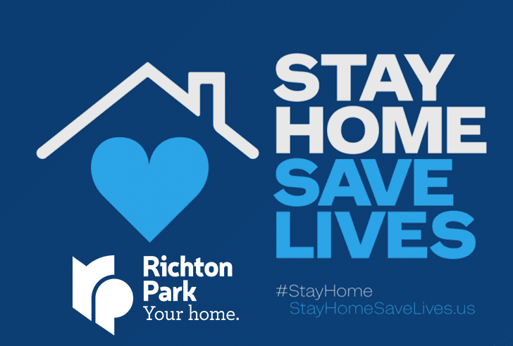 Stay Home Saves Lives 2