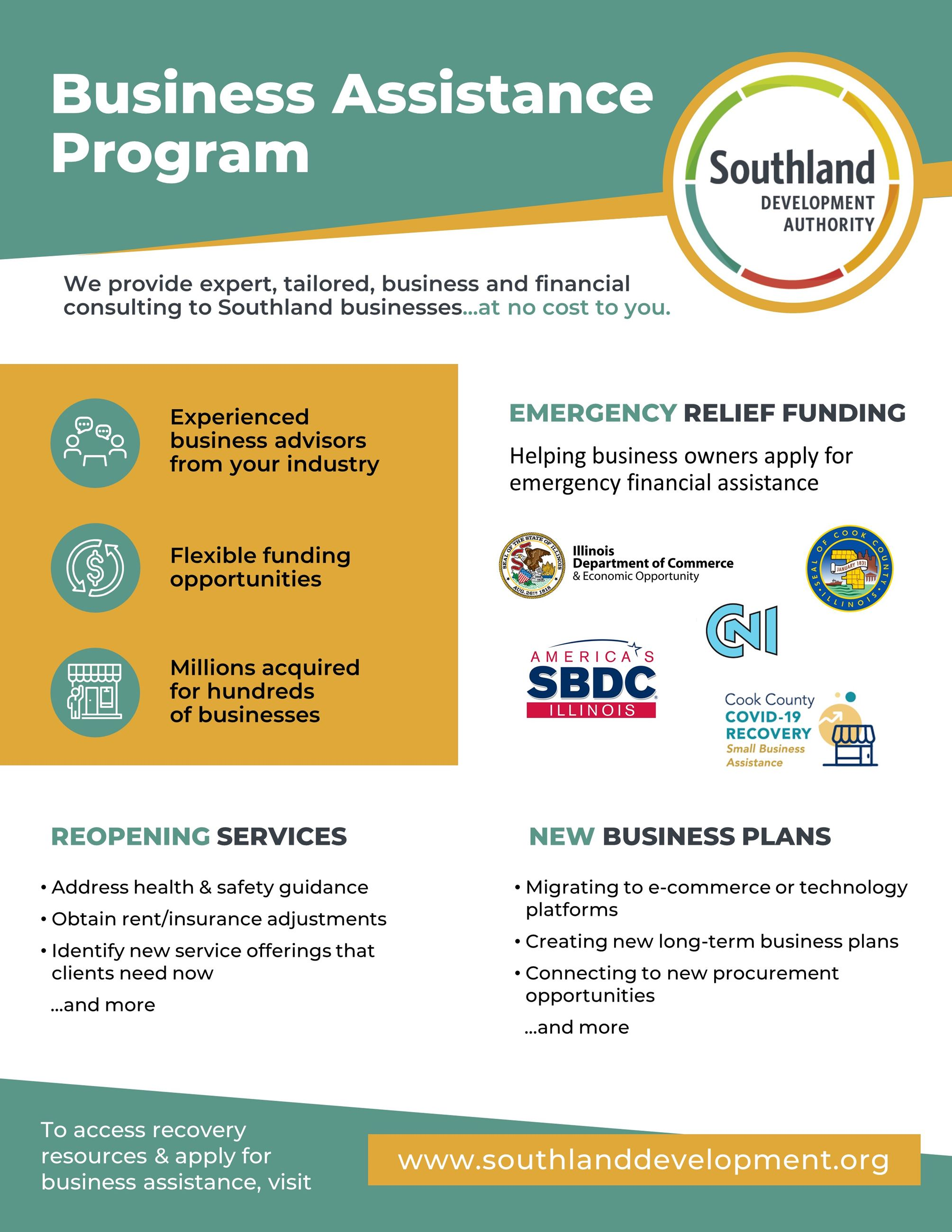 Southland Development Authority Business Assistance Program_vf