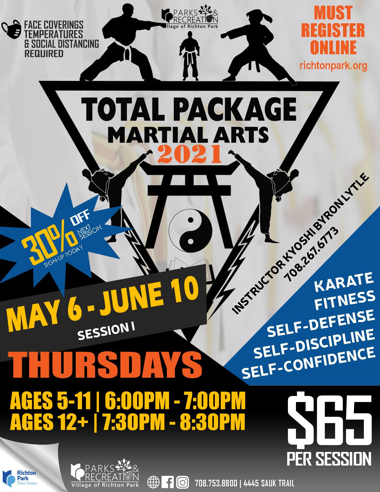 TotalPackage Martial Arts - 5.5.21