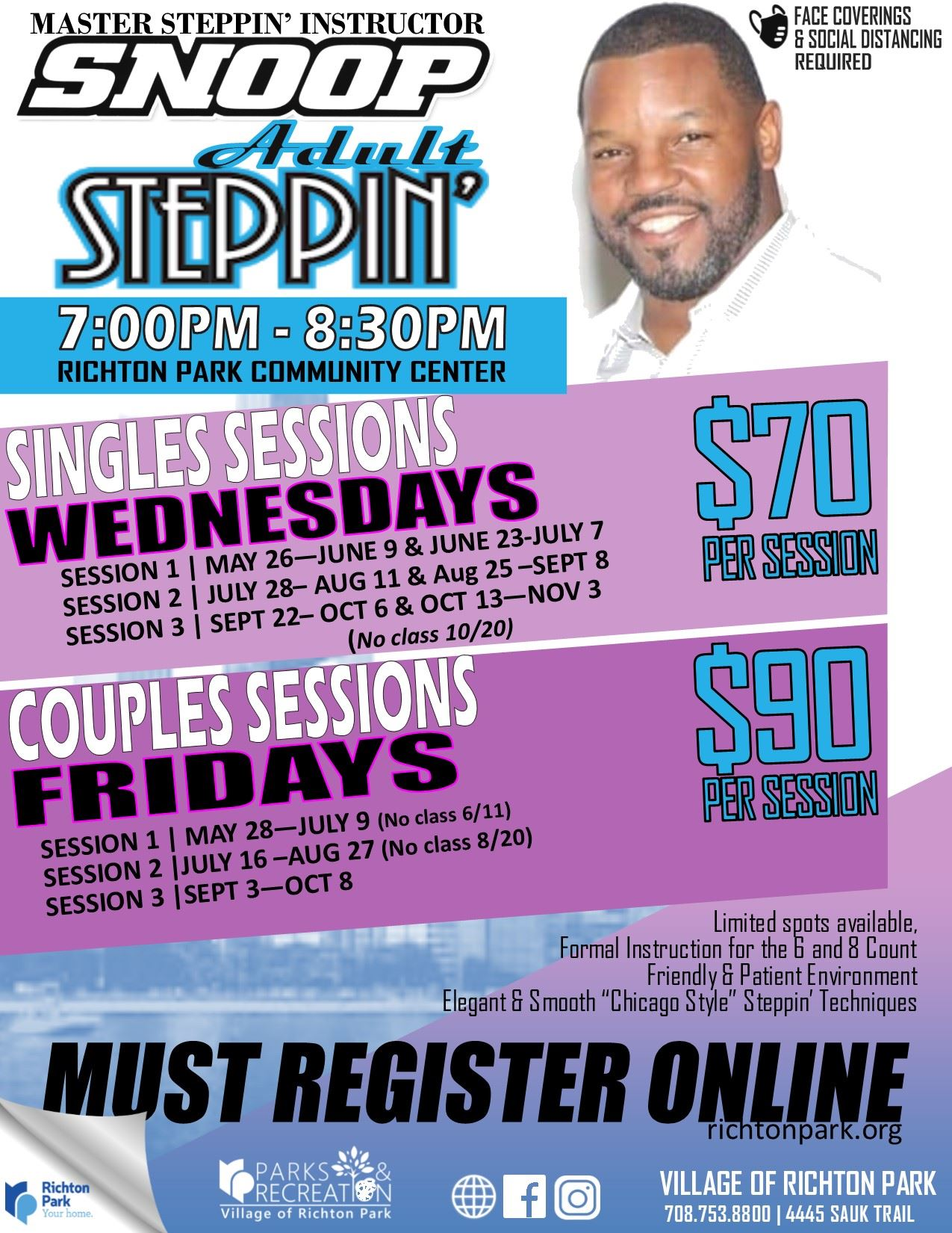 Adult Steppin 2021 May-Nov (FINALE)