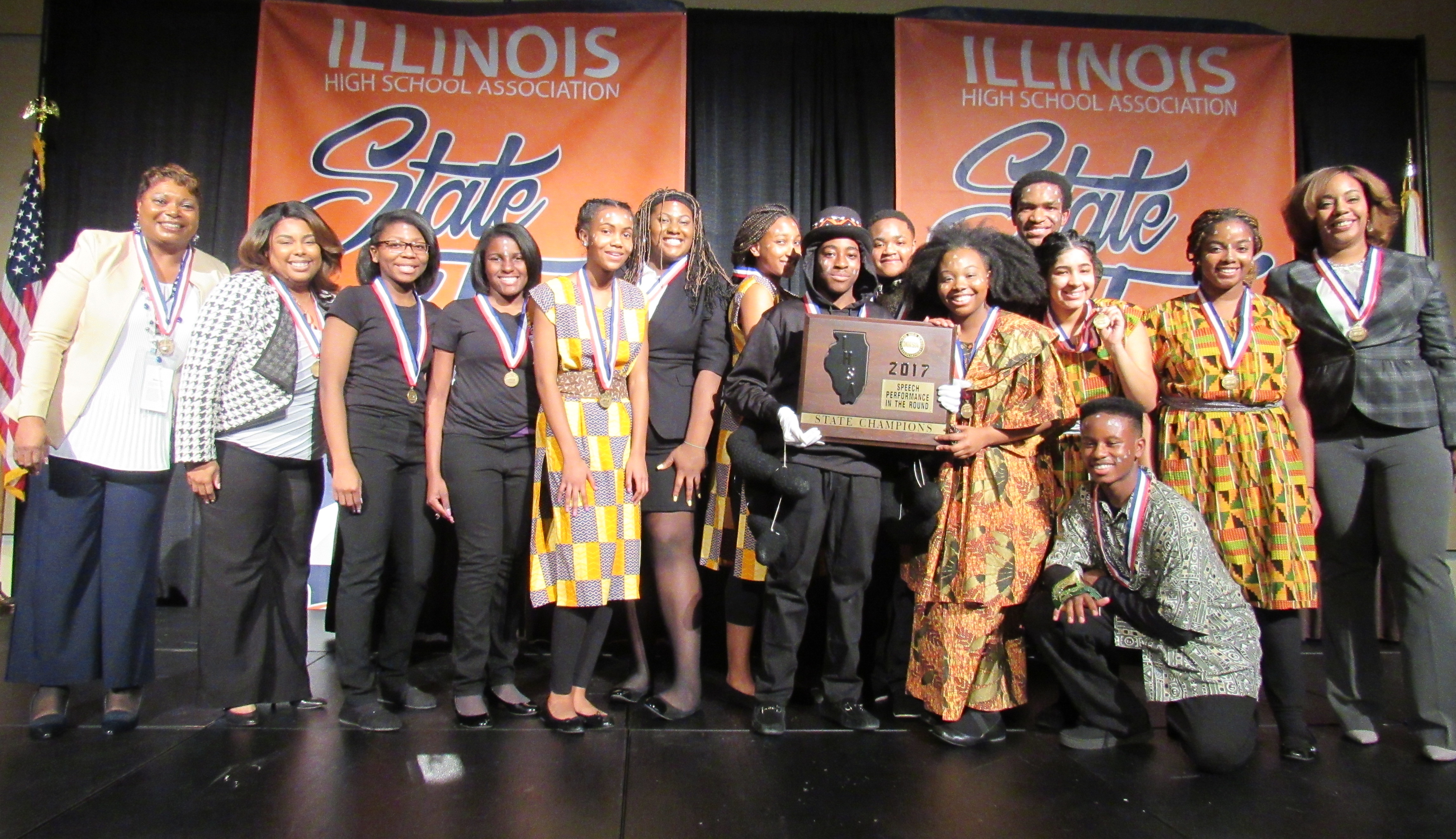 Southland at IHSA State Speech Tourney